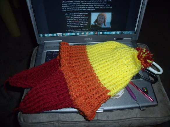 Completed Jayne Hat