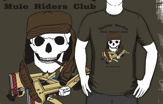 thrillin' heroics mule riders club